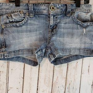 Guess Los Angeles denim Jean short shorts sz30